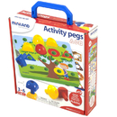 Miniland Educational MLE31787 Activity Pegs