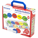 Miniland Educational MLE31791 Activity Buttons