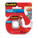 3M MMM109 Tape Poster Removable 3/4 X 150 Clear