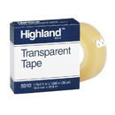 3M MMM5910341296 Tape Highland Transparent 3/4X1296