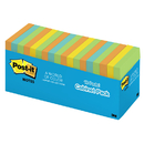 3M MMM65418BRCP Post-It Notes In Cabinet Packs 3X3 Neon Colors 18 Pads