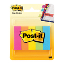 3M MMM6705AN Pg Markers Post It 5 Pads Per Pk - Assorted Neon 591 X 1969