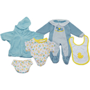 Get Ready Kids MTB1301 Doll Clothes Set Of 3 Boy Outfits