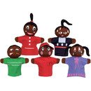 Get Ready Kids MTB421 How Am I Feeling Hand Puppets African American