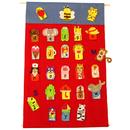 Get Ready Kids MTB737 Alphabet Finger Puppets & Wall - Chart