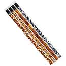 Musgrave Pencil Co MUS1023D Jungle Fever Assortment 12Pk Pencil