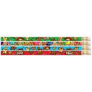 Musgrave Pencil Co MUS1067D Gingerbread Man & Candyland 12Pk Pencils