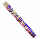 Musgrave Pencil Co MUS1401D Outstanding Student Pencil - Assortment Pack Of 12