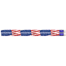 Musgrave Pencil Co MUS1615D Flags & Fireworks Pencil Pack Of 12