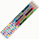 Musgrave Pencil Co MUS2339D Super Reader 12Pk Motivational Fun Pencils