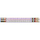 Musgrave Pencil Co MUS2348D Multiplication Tables 12Pk Motivational Fun Pencils