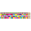Musgrave Pencil Co MUS2396D Watercolors 12Pk Motivational Fun Pencils