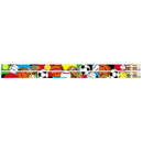 Musgrave Pencil Co MUS2403D Super Sports 12Pk Motivational Fun Pencils