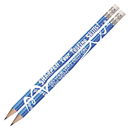Musgrave Pencil Co MUS2458D Sharpen Your Testing Skills 12Pk Pencils Pre Sharpened