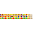 Musgrave Pencil Co MUS2499D 12 Pack Emojis Etc Pencils