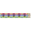 Musgrave Pencil Co MUS2542D Geometric Glitz Pencils 12Pk