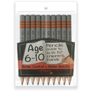Musgrave Pencil Co MUSWS100510 Write Size Pencils 4.75In 10 Pk