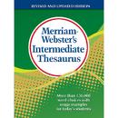 Merriam - Webster MW-1768 Merriam Websters Intermediate - Thesaurus Hardcover