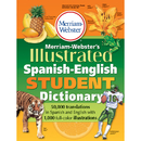 Merriam - Webster MW-1775 Merriam Websters Illustrated - Spanish English Student Dictionary