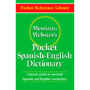 Merriam - Webster MW-5193 Merriam Websters Pocket Spanish - - English Dictionary