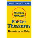 Merriam - Webster MW-524X Merriam Websters Pocket Thesaurus Hardcover