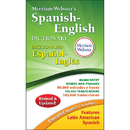 Merriam - Webster MW-8248 Merriam Websters Spanish-English - Dictionary Paperback