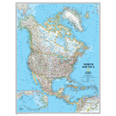 National Geographic Maps NGMRE00620148 North America Wall Map 24 X 30