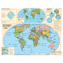 National Geographic Maps NGMRE01020557 Beginners World Map