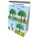 New Path Learning NP-340024 Flip Charts Weather & Sky Early - Childhood Science Readiness