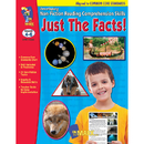 On The Mark Press OTM14289 Just The Facts Gr 4-6 Developing - Non Fiction Reading Comp Skills
