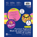 Pacon PAC101161 Brights Premium Tagboard Assortment