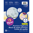 Pacon PAC101166 Parchment Tagboard Assortment