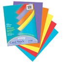 Pacon PAC101167 Array Card Stock Vibrant 100 Sht Assortment 5 Colors