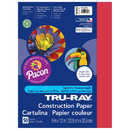 Pacon PAC102993 Tru Ray 9 X 12 Holiday Red 50 Sht Construction Paper