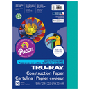 Pacon PAC103007 Tru Ray 9 X 12 Turquoise 50 Sht Construction Paper