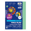 Kleenslate Concepts PAC103015 Tru Ray 9 X 12 Light Green 50 Shtconstruction Paper