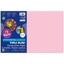Pacon PAC103044 Tru Ray 12 X 18 Pink 50 Sht Construction Paper