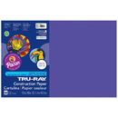 Pacon PAC103051 Tru Ray 12 X 18 Purple 50 Sht Construction Paper