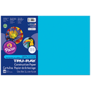 Pacon PAC103401 Tru Ray Atomic Blue 12X18 Fade - Resistant Construction Paper