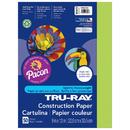 Pacon PAC103423 Tru Ray 9 X 12 Brilliant Lime 50Sht Construction Paper