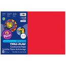 Pacon PAC103432 Tru Ray 12 X 18 Festive Red 50 Sht - Construction Paper