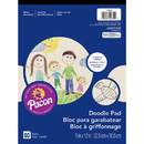 Pacon PAC104609 Doodle Pad 9X12