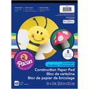 Pacon PAC104612BN Construction Paper Pad 9X12, 12 EA
