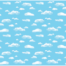Pacon PAC12850 Corobuff Clouds 12-1/2 Ft Roll