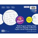 Pacon PAC2420 Dnealian Multi-Program Handwrting K 10 1/2 X 8 5/8 Long