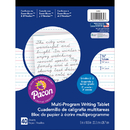 Pacon PAC2482 Writing Paper 40 Sht 8X10.5 1/2 In Short Rule