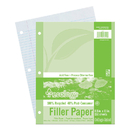 Pacon PAC3202 Ecology Recycled Filler Paper 150Sh 9/32In College Ruling