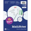 Pacon PAC3230 Mathnotes White 150 Ct 8.5 X 11 In