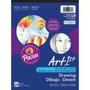 Pacon PAC4735 Art1St Drawing Pad 9X12 24 Sht Wht
