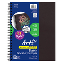 Pacon PAC4779 Sketch Diary Chip Cover 11X8.5 Blk